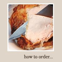 how to order a free range turkey fro Christmas from Maryfield farm Banchory